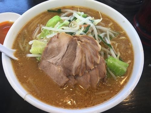「味噌チャーシュー麺」@南京亭 東大和店の写真