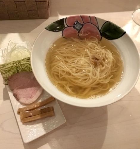 「のどぐろ煮干しらーめん (塩) ¥780」@Ramen&Bar ABRIの写真