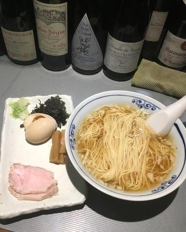 「氷見産煮干しらーめん ¥800」@貧瞋癡の写真