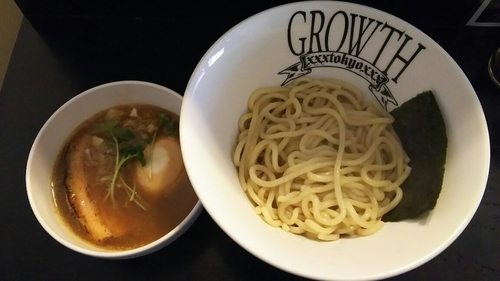 「つけ麺(あつもり)+味玉」@麺処GROWTHの写真
