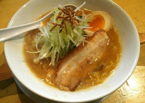 「濃厚味噌らーめん(ハーフ) 700円」@麺屋 雪風 すすきの本店の写真