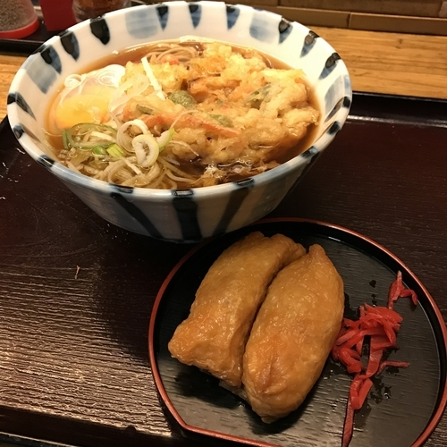 「朝食サービスセット(¥370)」@そば新 蒲田西口店の写真