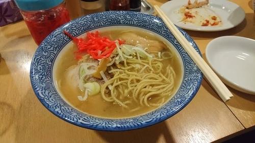 「長州らー麺640円」@長州ラーメン 万龍軒 富士見店の写真