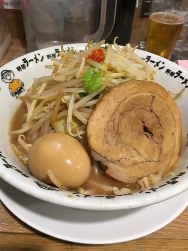 「味玉豚骨野郎」@野郎ラーメン 恵比寿西口店の写真