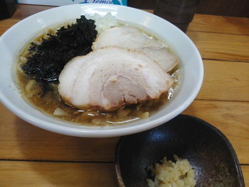 「背脂煮干しそば 780円」@ときわ亭の写真