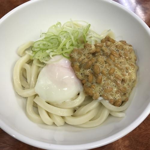 「釜玉納豆(¥480)」@あさひの写真