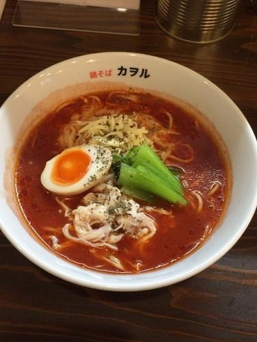 「トマトラーメン」@鶏そば カヲルの写真