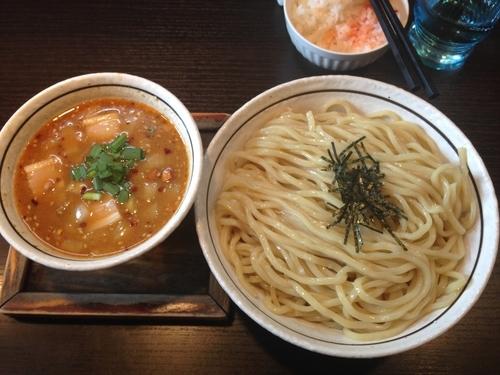 「塩台湾つけ麺」@麺の坊 晴ればれの写真