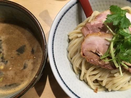 「濃厚煮干つけ麺並盛 850円」@煮干麺 月と鼈の写真