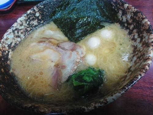「ちゃあしゅう麺¥880+うずらのたまご(クーポン)」@麺場 ちゃっちゃかの写真