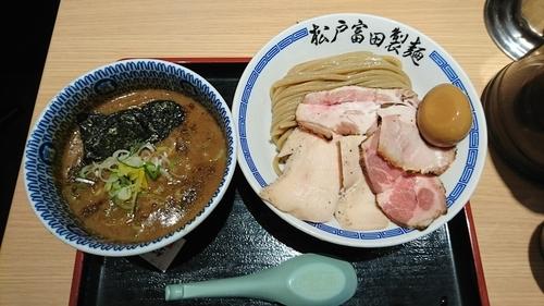 「濃厚特製つけ麺(¥1,050)」@松戸富田製麺 ららぽーとTOKYO-BAY店の写真