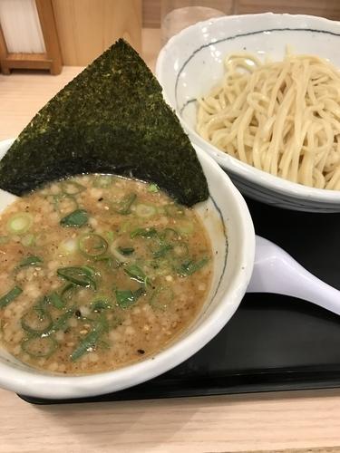 「濃厚魚介つけ麺」@由丸 人形町店の写真