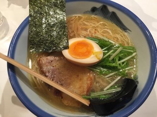 「柚子塩ラーメン」@AFURI 新宿店の写真