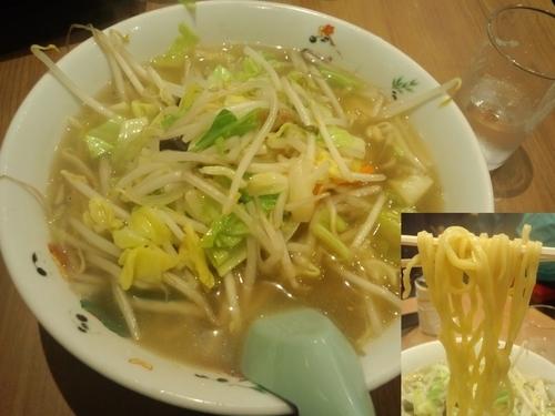 「横浜タンメン850円」@おっちゃんラーメン居酒屋の写真