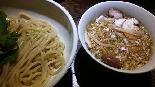 「塩出汁つけそば」@神田とりそば なな蓮の写真