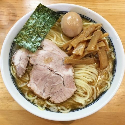 「新・塩ラーメン(仮) 味玉 ¥950」@自家製中華そば としおかの写真