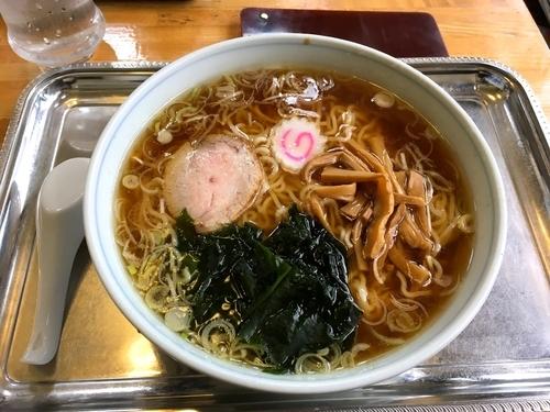 「中華麺 少なめ」@大勝軒 武蔵増戸店の写真