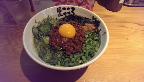 「台湾まぜそば、大盛」@麺屋こころ 梅ヶ丘店の写真