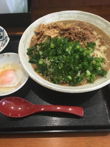 「広島流汁なし担々麺」@広島流つけ麺 からまるの写真