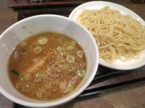 「濃厚魚介つけ麺・並 790円」@地獄ラーメン 日と月の写真