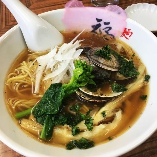 「牛蛤ラーメン+貝増し」@麺や 福座の写真