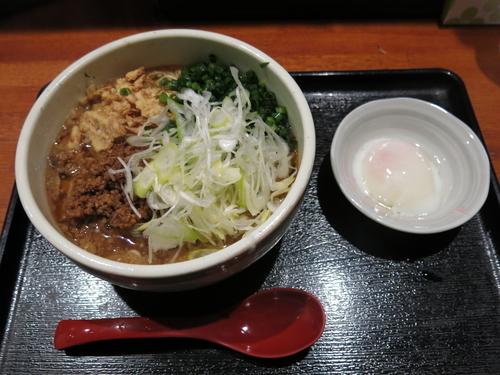 「広島流汁なし担々麺(3辛):800円」@広島流つけ麺 からまるの写真