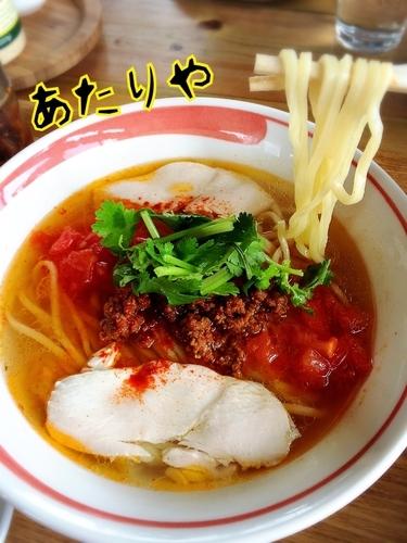 「鶏トムヤムらーめん¥850」@あたりやの写真