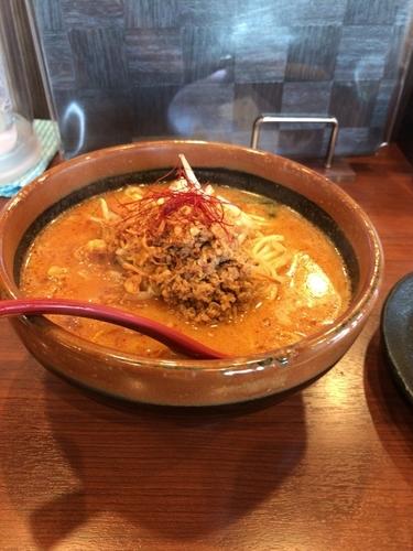 「北海道味噌 辛味噌ラーメン」@蔵出し味噌 麺場壱歩 入間店の写真