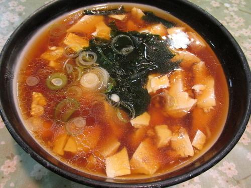 「豆腐ラーメン 「600円」」@レストラン大手門の写真