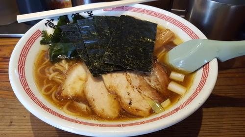 「特製中華そば並(150g)950円」@松戸中華そば 富田食堂の写真