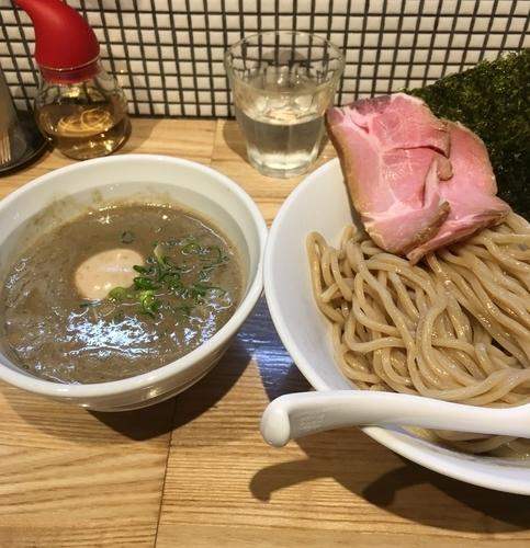 「味玉濃厚煮干つけ麺(¥900)」@らーめん 改の写真