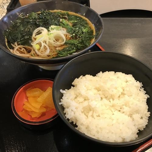 「浅草朝食(¥300)」@小粋そば 浅草北口店の写真