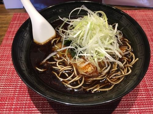 「黒勝浦タンタン麺」@麺屋MASTER PIECE 勝浦本店の写真