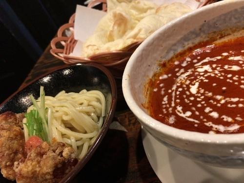 「バタチキつけ麺」@ビリヤ二 本庄店の写真