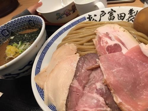 「濃厚特製つけ麺 大 1,150円」@松戸富田製麺 ららぽーとTOKYO-BAY店の写真