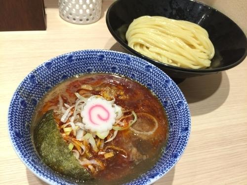 「辛つけめん」@頑者製麺所 エキア成増店の写真