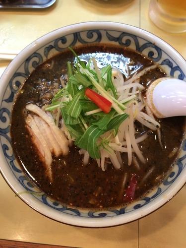 「黒胡麻タンタン麺(880円)」@しょうらい亭 北野店の写真