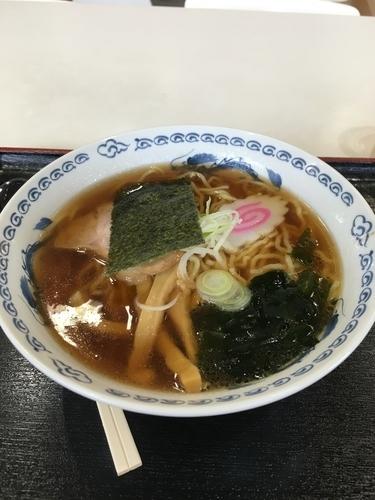 「醤油ラーメン500円」@道の駅 さかいの写真