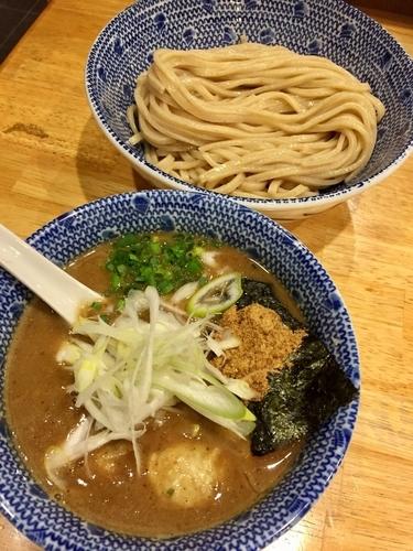 「魚介とんこつ つけ麺 ¥830」@麺屋我龍の写真