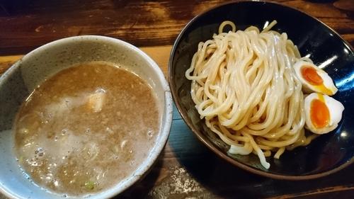 「京介つけ麺、味玉 900円」@つけめん屋 赤羽京介の写真