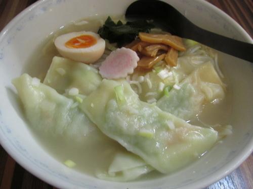 「海老ワンタン麺(塩) 「1,050円」」@味道屋の写真