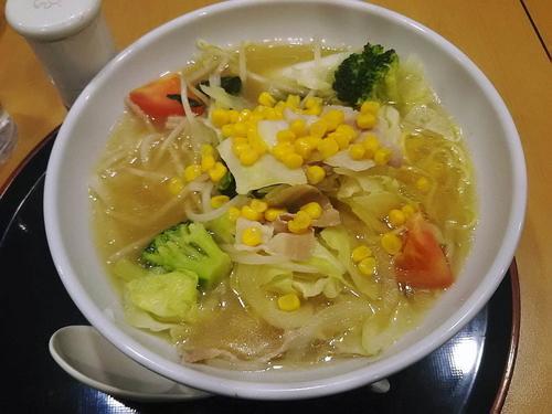 「野菜たっぷりタンメン863円」@ジョナサン 狭山上広瀬店の写真