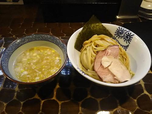 「龍介つけそば大盛り820円」@特級鶏蕎麦 龍介の写真