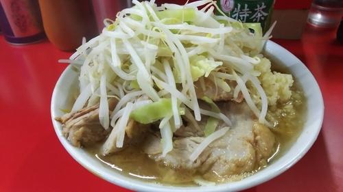 「ラーメン(にんにく)」@ラーメン二郎 松戸駅前店の写真