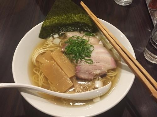 「【限定】煮干しの白醤油らーめん 750円」@らーめん カッパハウスの写真