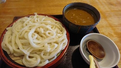 「カレー汁うどん 850円」@ゆでたて家の写真