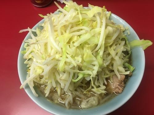 「小ラーメン(ニンニク、野菜)」@ラーメン二郎 中山駅前店の写真
