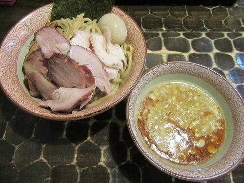 「海老つけそば(900円)+特級トッピング他」@特級鶏蕎麦 龍介の写真