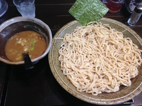 「豚骨魚介つけ麺(大盛)」@ちょもらん麺の写真
