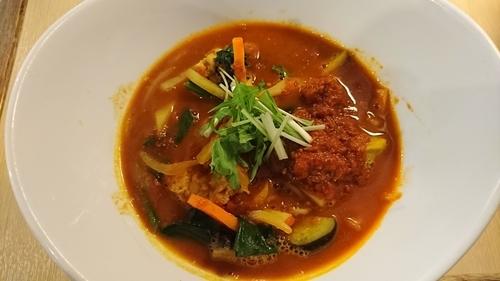 「Chiriマサラ麺 850円」@トマト麺 Vegieの写真